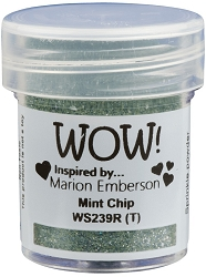 WOW! - Embossing Powder - Mint Chip by Marion Emberson (15ml)
