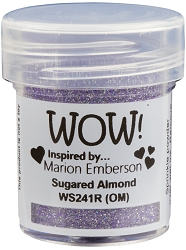 WOW! - Embossing Powder - Sugared Almond by Marion Emberson (15ml)