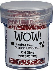 WOW! - Embossing Powder - Old Glory by Marion Emberson (15ml)
