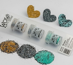 WOW! - Embossing Powder Trio - Riviera by Marion Emberson (3 x 15ml)