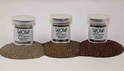 WOW! - Embossing Powder Trio - Apterfied Metalz by Seth Apter (3 x 15ml)