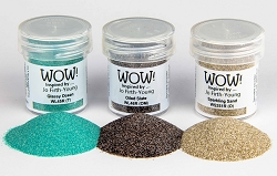 WOW! - Embossing Powder Trio - Dockside by Jofy (3 x 15ml)
