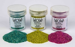 WOW! - Embossing Powder Trio - Gemstone by Tracy Scott (3 x 15ml)