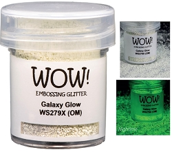 WOW! - Embossing Powder - Galaxy Glow (Glow in the dark) (15ml)