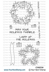 Your Next Stamp - Clear Stamp - Holiday Twinkle