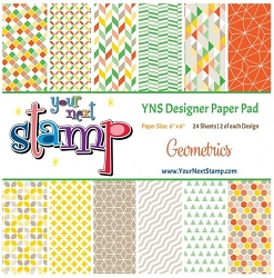 Your Next Stamp - 6x6 Paper Pad - Geometrics