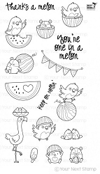 Your Next Stamp - Clear Stamp - One in a Melon