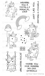 Your Next Stamp - Clear Stamp - Unicorns Rock