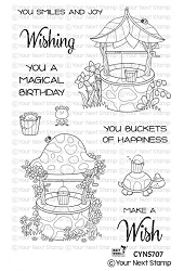 Your Next Stamp - Clear Stamp - Magical Wishing Wells