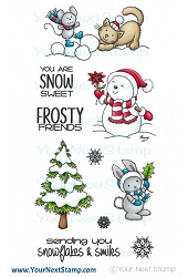 Your Next Stamp - Clear Stamp - Frosty Friends