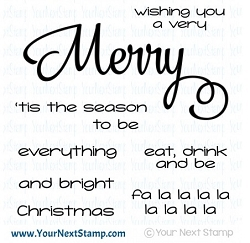 Your Next Stamp - Clear Stamp - Merry Everything