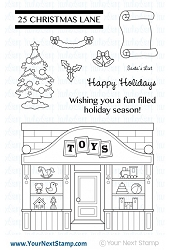 Your Next Stamp - Clear Stamp - Toy Shop