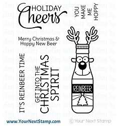Your Next Stamp - Clear Stamp - Reinbeer
