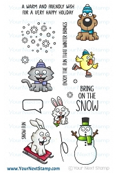 Your Next Stamp - Clear Stamp - Hello Winter