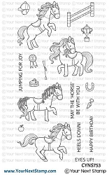 Your Next Stamp - Clear Stamp - Show Ponies