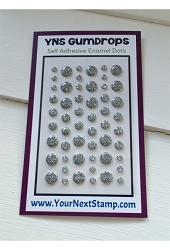 Your Next Stamp - Gumdrops - Silver Tinsel