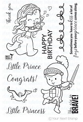 Your Next Stamp - Clear Stamp - Little Darling Frog Princess