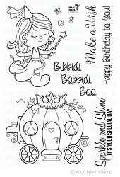 Your Next Stamp - Clear Stamp - Little Darling Fairy Godmother