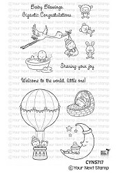 Your Next Stamp - Clear Stamp - Baby Blessings