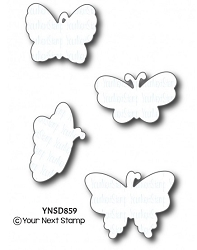 Your Next Stamp - Dies - Beautiful Butterflies