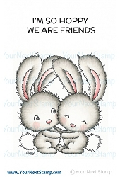 Your Next Stamp - Clear Stamp - Hoppy Friends
