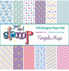 Your Next Stamp - 6x6 Paper Pad - Fairytale Magic