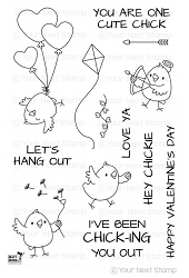 Your Next Stamp - Clear Stamp - Chickie Love