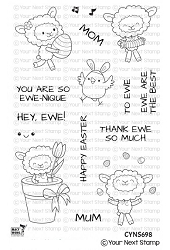 Your Next Stamp - Clear Stamp - So Ewe-nique