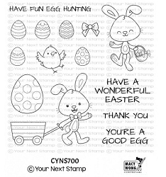 Your Next Stamp - Clear Stamp - Egg Hunt