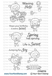 Your Next Stamp - Clear Stamp - Life is Sweet