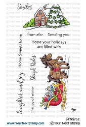 Your Next Stamp - Clear Stamp - Sleigh Ride