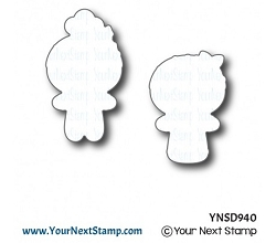 Your Next Stamp - Dies - Sweet Holiday Cookies