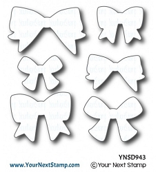 Your Next Stamp - Dies - Cute Bows