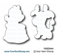 Your Next Stamp - Dies - Crazy for Christmas