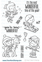 Your Next Stamp - Clear Stamp - Snow Wonderful