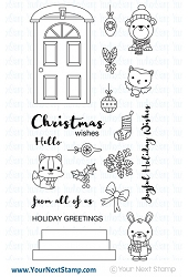 Your Next Stamp - Clear Stamp - Deck The Halls
