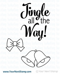 Your Next Stamp - Clear Stamp - Jingle Bells