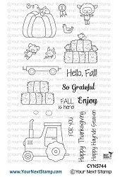 Your Next Stamp - Clear Stamp - Happy Hayrides