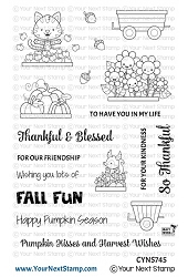 Your Next Stamp - Clear Stamp - Happy Hayrides Fall
