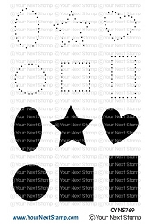 Your Next Stamp - Clear Stamp - Dots and Shapes
