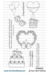 Your Next Stamp - Clear Stamp - Lifetime of Happiness