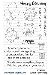 Your Next Stamp - Clear Stamp - Hammie Happy Birthday