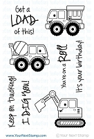Your Next Stamp - Clear Stamp - Keep On Trucking
