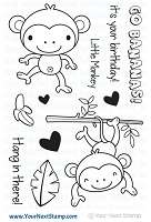 Your Next Stamp - Clear Stamp - Monkey Fun