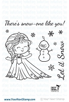 Your Next Stamp - Clear Stamp - Little Darling Winter