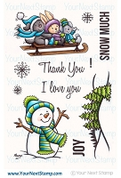 Your Next Stamp - Clear Stamp - Snow Much Joy