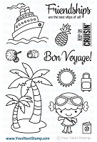 Your Next Stamp - Clear Stamp - Vacation Phoebe