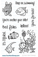 Your Next Stamp - Clear Stamp - Fishy Fun