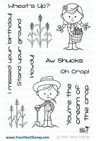 Your Next Stamp - Clear Stamp - Howdy Farmer