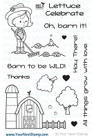 Your Next Stamp - Clear Stamp - Barnyard Love